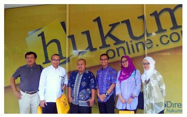 Hukumonline Terima Kunjungan Asosiasi Penghuni Rumah Susun Seluruh Indonesia