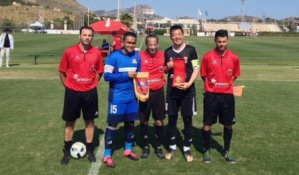 PERADI FC Lumat Tim Advokat Tiongkok 5-0