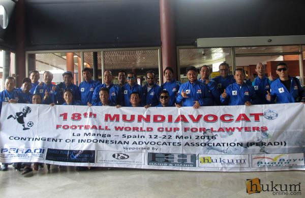 PERADI FC di Mundi Avocat 2016