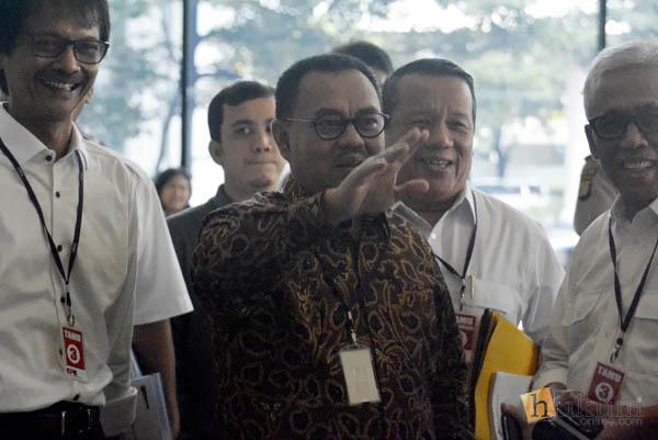 Menteri ESDM Sambangi KPK Bahas Sistem Whistle Blower