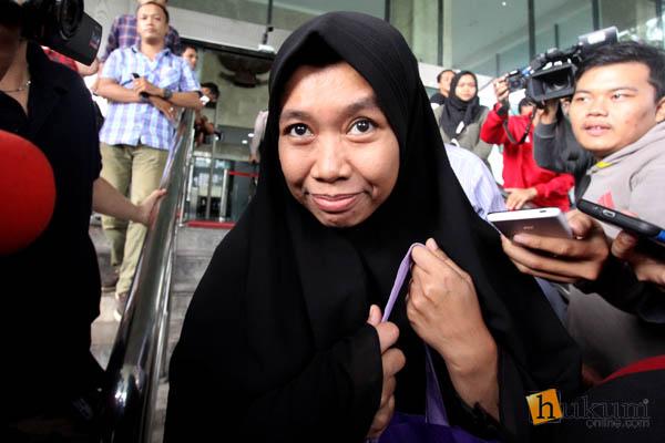 Jaksa Deviyanti Jalani Pemeriksaan di Gedung KPK