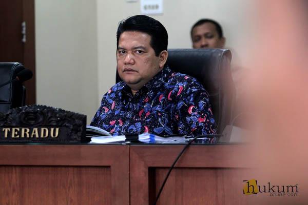 Ketua KPU Jalani Sidang Etik DKPP