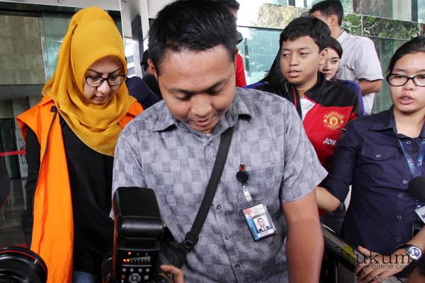 Siti Marwa Jalani Pemeriksaan di KPK