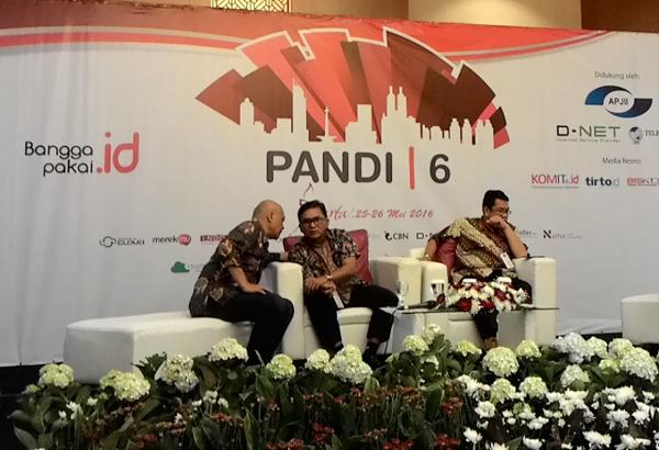 """Seminar bertema """"Domain .ID Sebagai Brand di Internet: Perlindungan Merek di Internet"""" di Jakarta. Foto: NNP"""