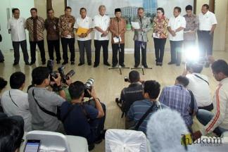 Pimpinan KPK dan BPK Bahas Kasus RS Sumber Waras