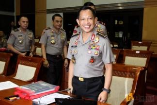 Calon Kapolri Tito Karnavian Jalani Fit and Proper Test