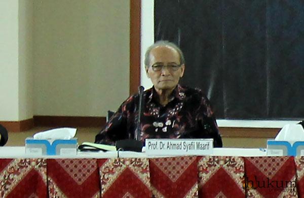 Buya Syafii dan Seleksi Calon Hakim Agung