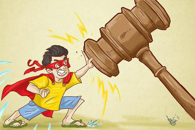 Kala Anak Berhadapan dengan Hukum
