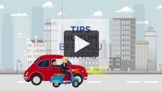 [VIDEO] Tips Hukum Berlalulintas