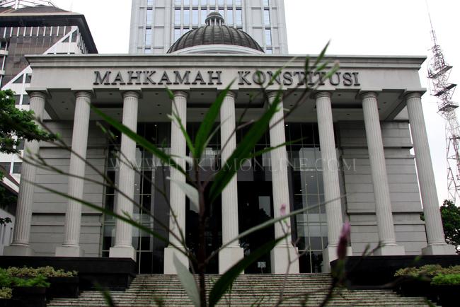 Gedung MK. Foto. RES