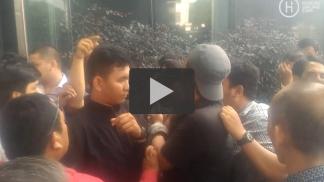 [VIDEO] Kericuhan usai sidang Marudut