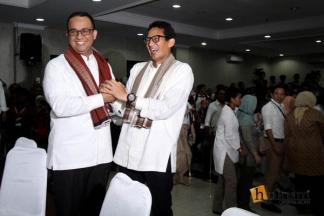 Anies dan Sandiaga Bersiap untuk PIlkada Jakarta