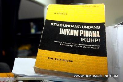 Pemerintah Diminta Terbitkan Terjemahan Resmi KUHP dalam Bahasa Indonesia