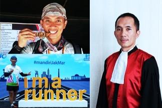 "Syamsul Arief, Hakim yang ""Kecanduan"" Olahraga Lari"