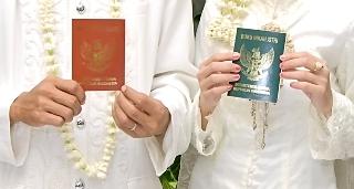 Ilustrasi pasangan yang melangsungkan perkawinan. Foto: SGP