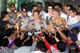 Bahas SPDP Online, Kapolri Bertemu Ketua KPK