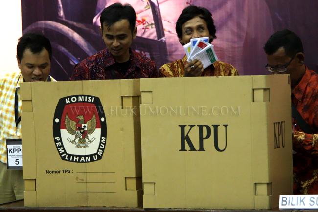 Salah satu tahapan Pemilu. Foto: SGP