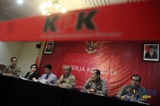 Sepanjang 2016, KPK Sumbang Setengah Triliun ke Kas Negara
