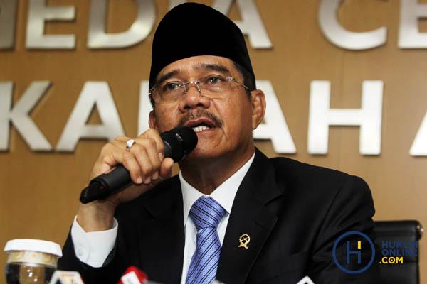 Ketua MA M. Hatta Ali. Foto: RES