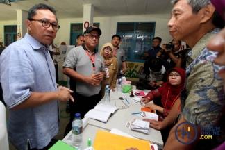 Ketua MPR dan Komisioner KPU Pantau TPS
