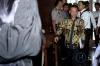 Direktur Jenderal Pajak Kementerian Keuangan Ken Dwijugiasteadi saat memberi kesaksian dalam sidang lanjutan perkara suap terkait pengurusan pajak oleh Country Director PT EK Prima (EKP) Ekspor di Pengadilan Tipikor, Jakarta, Senin (13/3).
