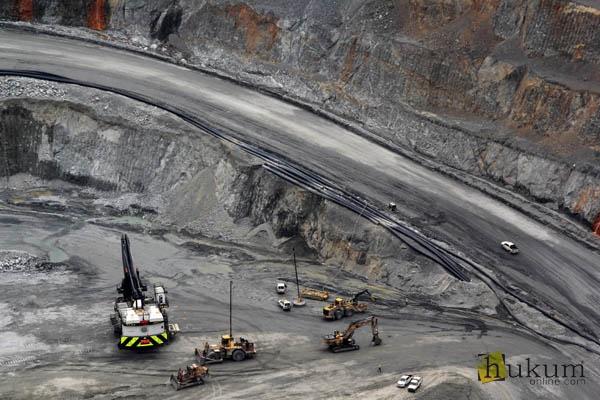Ilustrasi kegiatan usaha pertambangan minerba. Foto: RES