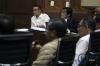Terdakwa yang merupakan Direktur Utama PT Technofo Melati Indonesia, Fahmi Darmawansyah menjalani sidang lanjutan kasus suap Bakamla di Pengadilan Tipikor, Jakarta, Senin (20/3).