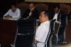 Direktur Operasional PT Rakabu Sejahtera Arif Budi Sulistyo menjadi saksi pada sidang kasus dugaan suap pengurusan pajak dengan terdakwa Ramapanicker Rajamohanan Nair di Pengadilan Tipikor, Jakarta, Senin (20/3).