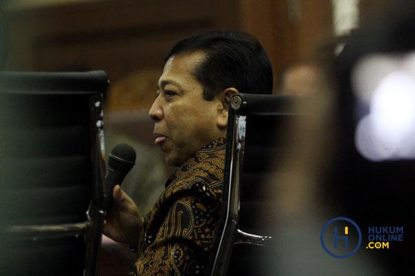 Tim Advokasi Setnov Singgung Asas Ne Bis In Idem