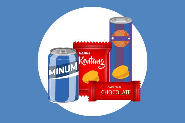 Aturan Pencantuman Kandungan Gizi dan Komposisi Bahan di Kemasan Makanan Ringan