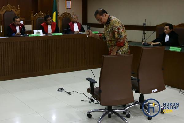 Contoh sidang perkara tipikor Pengadilan Tipikor, Jakarta. Foto: RES