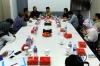 Dalam kunjungan tersebut, Aidul dan Farid memaparkan isu-isu terkini yang tengah terjadi di lingkungan KY, salah satunya mengenai RUU Jabatan Hakim.