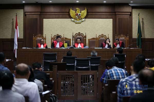 : Sidang di Pengadilan Tipikor Jakarta. Foto: RES.
