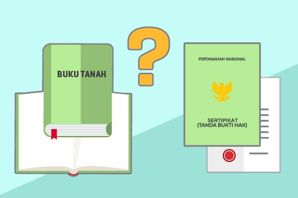 Perbedaan Buku Tanah dengan Sertifikat Tanah