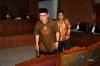 Dua terdakwa kasus dugaan penyebaran kebencian di media sosial Rizal Kobar dan Jamran sidang saat sidang lanjutan di Pengadilan Negeri (PN) Jakarta Selatan, Jakarta, Senin (15/5).