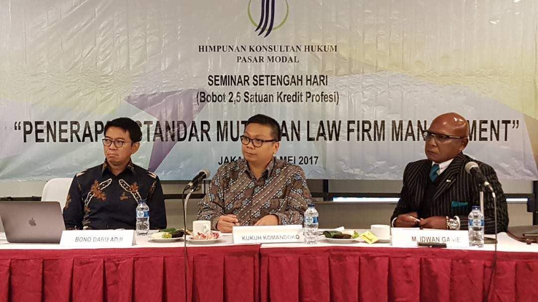 Penerapan Standar Mutu dan Tantangan bagi Firma Hukum