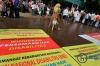 Sejumlah penyandang disabilitas mengikuti aksi unjuk rasa bertajuk Kebangkitan Nasional Penyandang Disabilitas di depan Istana Merdeka, Jakarta, Kamis (18/5).