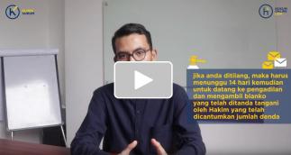[Video] PROSEDUR MENGAMBIL DENDA TILANG SLIP BIRU!