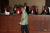 Mantan Hakim Mahkamah Konstitusi itu didakwa menerima hadiah berupa uang sejumlah AS$70 ribu dan dijanjikan Rp2 miliar, dari pengusaha Basuki Hariman dan sekretarisnya Ng Fenny melalui Kamaludin terkait pemulusan judicial review UU Peternakan dan Kesehatan Hewan.
