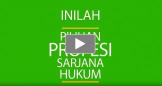 [Video] Ini Pilihan Pekerjaan Sarjana Hukum