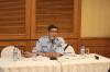 """Bapak Junarlis, Kasubdit Permohonan dan Publikasi, Direktorat Merek dan Indikasi Geografis, Kementerian Hukum dan HAM, Workshop Hukumonline """"Pendaftaran Merek. (Selasa, 25/17). Foto: Event & Training Hukumonline"""