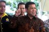 Ketua DPR Setya Novanto memenuhi panggilan KPK untuk menjalani pemeriksaan di gedung KPK, Jakarta, Jumat (14/7).