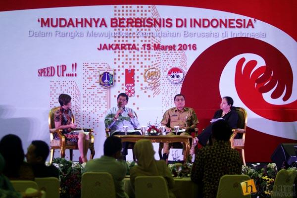 Kemudahan berusaha perlu diimbangi dengan penghormatan terhadap HAM. Indonesia sedang menyusun Rencana Aksi Nasional Bisnis dan HAM. Foto: RES