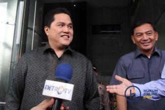 Pimpinan Inasgoc Datangi KPK Soal Anggaran Asian Games 2018