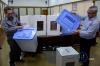 Pengecekan dilakukan untuk menghitung berapa jumlah kotak suara yang rusak setelah digunakan pada Pemilu 2014 lalu.