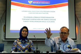 Ombudsman Luncurkan Kajian Pelayanan Lapas