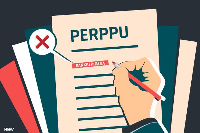 Mengupas Legalitas Aturan Sanksi Pidana dalam Perppu