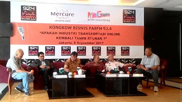 Kemenhub Gandeng Lawyer Bahas Revisi Aturan Transportasi Online