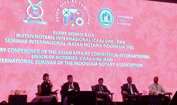 Harapan Terhadap The Apostile Convention dalam Seminar Internasional Notaris