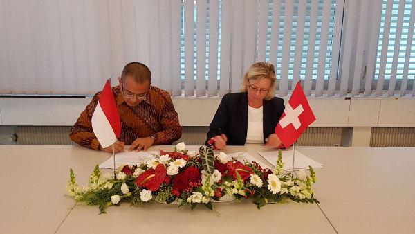 Persempit Ruang Gerak Pelaku Kejahatan, Indonesia-Swiss Setujui Perjanjian MLA